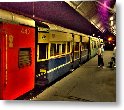 Shimla Toy Train Metal Print by Salman Ravish