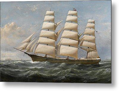 Ship Metal Print by Samuel Walters