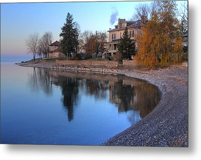 Metal Print featuring the photograph Shoreline - Kingston Ontario by Jim Vance