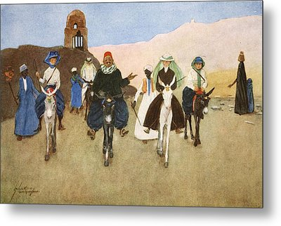 Should Women Ride Astride?, From The Metal Print by Lance Thackeray