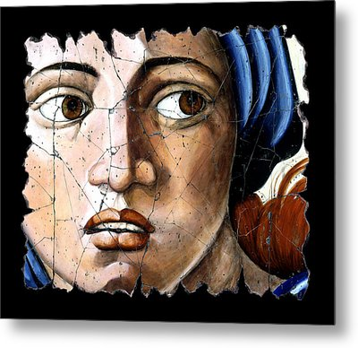 Sibyl Of Delphi Metal Print by Steve Bogdanoff