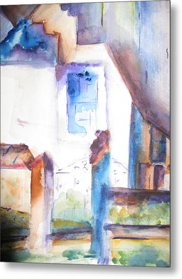 Side Of A House Metal Print
