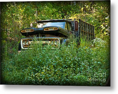 Metal Print featuring the photograph Sid's Old Truck by Lena Wilhite