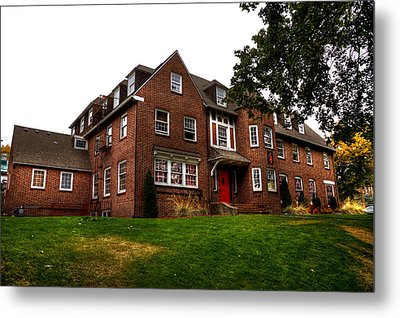 Sigma Phi Epsilon Fraternity On The Wsu Campus Metal Print by David Patterson