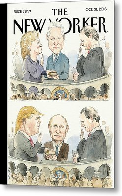 Significant Others Metal Print by Barry Blitt