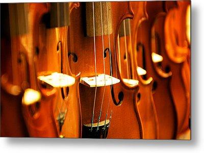 Silent Violins Metal Print