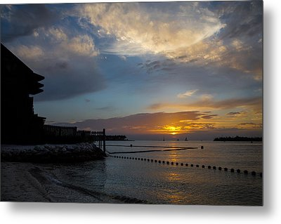 Another Sunset In Paradise Metal Print by Maria Robinson