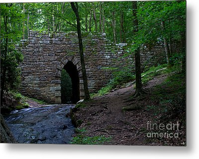 Since 1802 Poinsett Bridge Metal Print