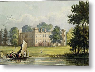 Sion House, From R. Ackermanns Metal Print by John Gendall