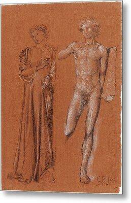 Sir Edward Coley Burne-jones British, 1833 - 1898 Metal Print