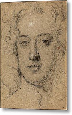 Sir Godfrey Kneller English, 1646 - 1723 Metal Print by Quint Lox
