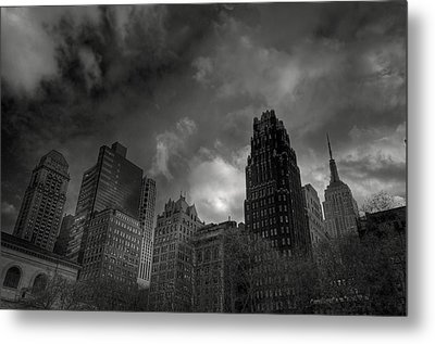 Skyscrapers Metal Print by Mike Horvath