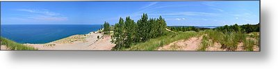 Sleeping Bear Dunes National Lakeshore Metal Print by Michelle Calkins