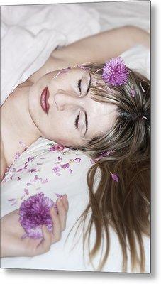 Sleeping Beauty Metal Print by Svetlana Sewell