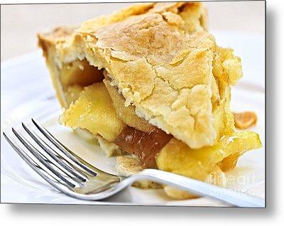 Slice Of Apple Pie Metal Print by Elena Elisseeva