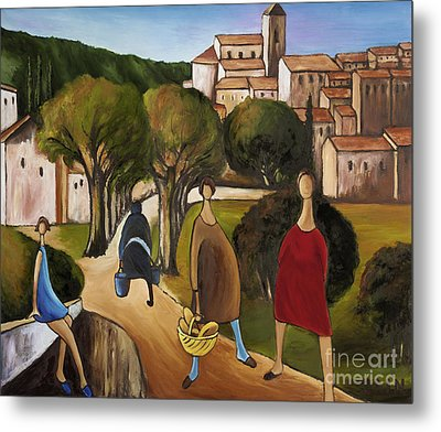 Slice Of Life 2 Provence Metal Print by William Cain