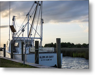 Metal Print featuring the photograph Slow An Easy by Gregg Southard