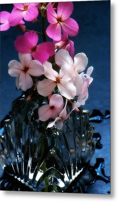 Metal Print featuring the photograph Small Flowers by Michael Dohnalek