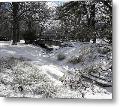 Snow Covered Dream Metal Print