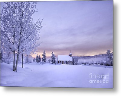 Metal Print featuring the photograph Snow Day by Kristal Kraft