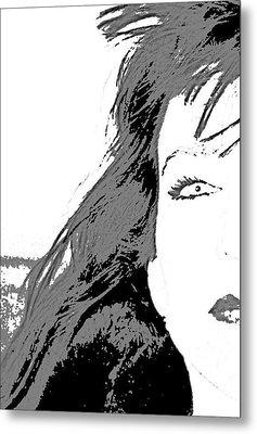 Snow White Metal Print by Joe Serrano