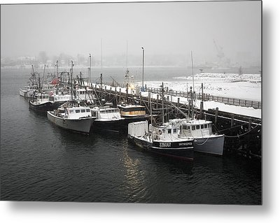 Snowed In Metal Print by Eric Gendron