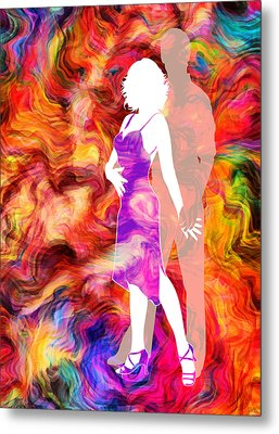Some Like It Hot 2 Metal Print by Angelina Vick