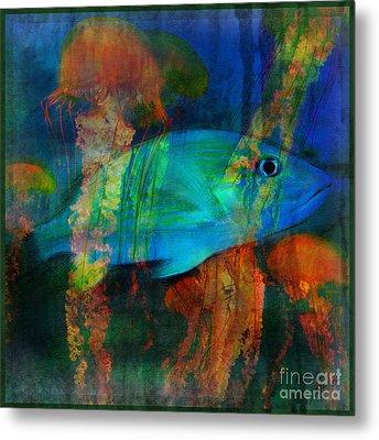 Something Fishy Metal Print by Erika Weber
