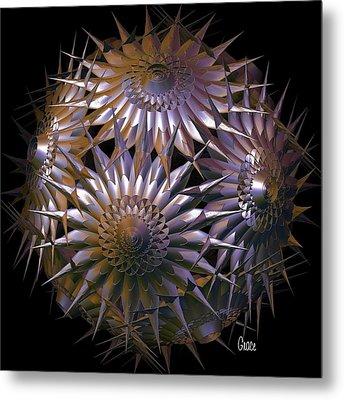 Spiny Beauty Metal Print by Julie Grace