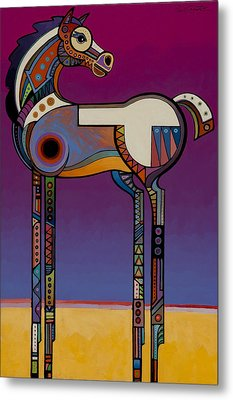 Spirit Horse Metal Print by Bob Coonts
