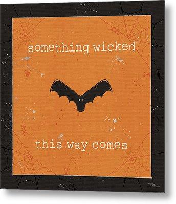 Spooky Cuties Iv Metal Print by Pela Studio