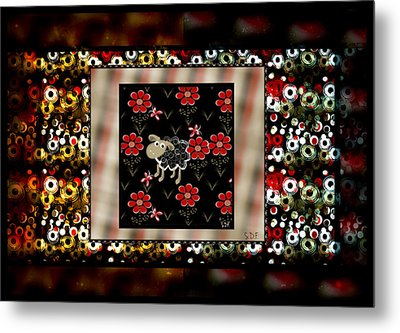 Spotted Metal Print by Sherry Flaker