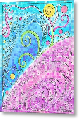 Spring Equinox Metal Print by Shawna Rowe