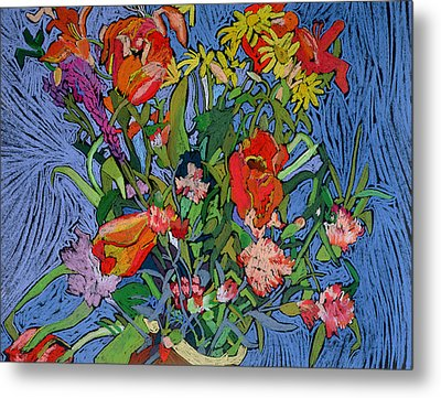 Spring Symphony Metal Print by Frances Treanor