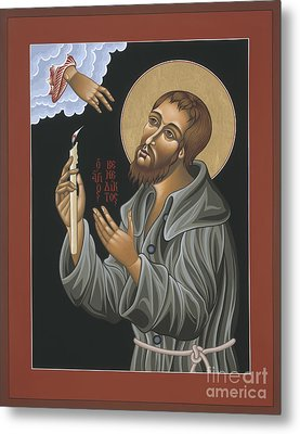 Metal Print featuring the painting St. Benedict Joseph Labre 062 by William Hart McNichols