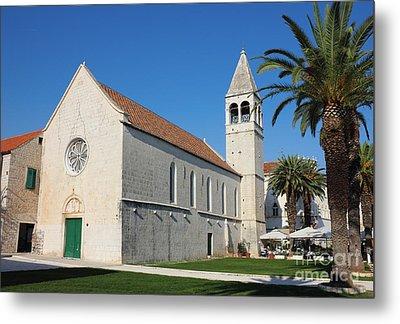 St Dominic Monastery In Trogir Metal Print by Kiril Stanchev