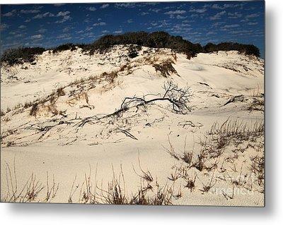 St. Joseph Sand Dunes Metal Print by Adam Jewell
