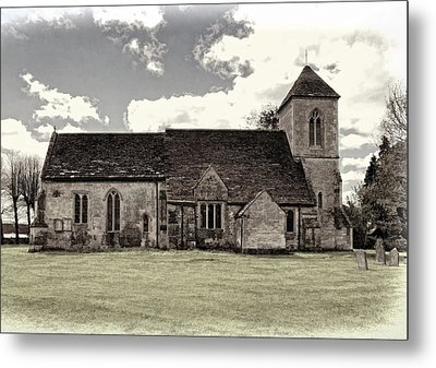 St Peters Church 5 Metal Print by Paul Gulliver