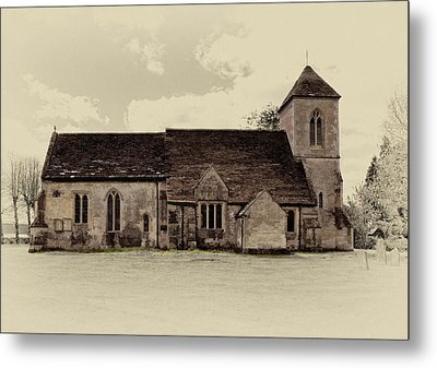 St Peters Church 6 Metal Print by Paul Gulliver
