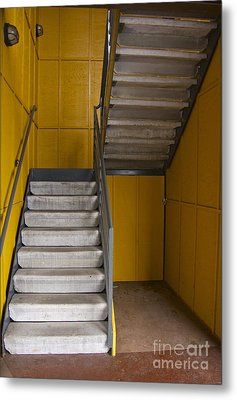 Stairwell Metal Print by Sean Griffin