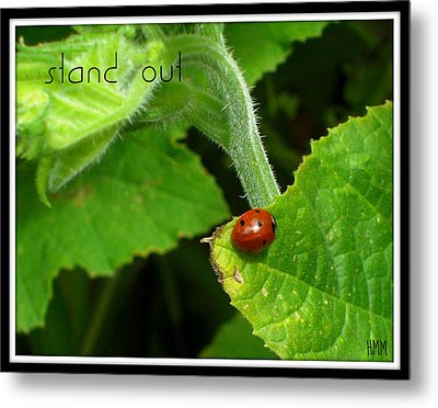 Metal Print featuring the photograph Stand Out by Heidi Manly
