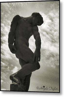 Standing Tall Metal Print by Angela  Taylor