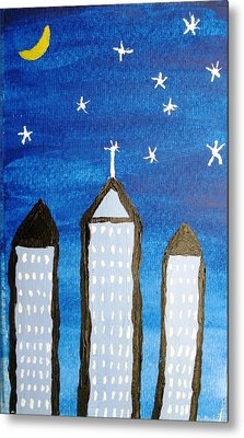 Star City Metal Print by Will Boutin Photos