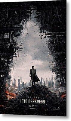 Star Trek Into Darkness  Metal Print by Movie Poster Prints