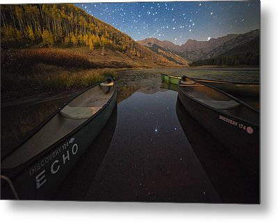 Starlight Discovery At Piney Lake Metal Print by Mike Berenson