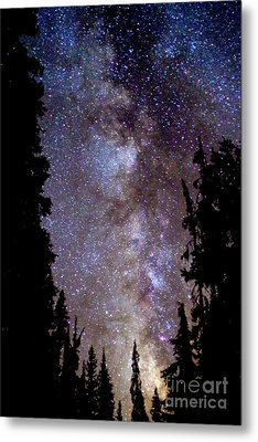 Starry Night -  The Milky Way Metal Print by Douglas Taylor