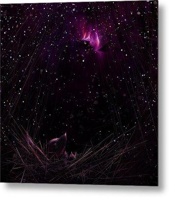 Starry Starry Night Metal Print by Rachel Christine Nowicki