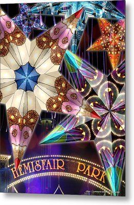 Stars - Luminaria Collection Metal Print