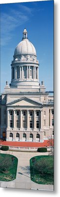 State Capitol Of Kentucky, Frankfort Metal Print by Panoramic Images