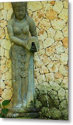 Statue - Bali Metal Print